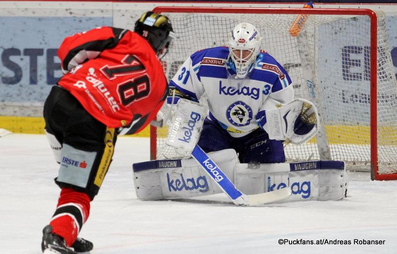 HC Orli Znojmo - EC VSVMichal Plutnar #78, David Kickert #31Nevoga Arena Zimní Stadion, Znojmo©Puckfans.at/Andreas Robanser