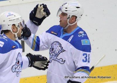 Kevin Dallman #38, Barys Astana KHL Season 16-17 ©Puckfans.at/Andreas Robanser