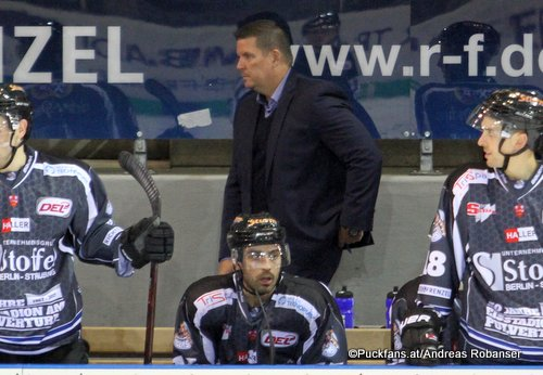 Head Coach Tom Pokel Straubing Tigers, DEL ©Puckfans.at/Andreas Robanser
