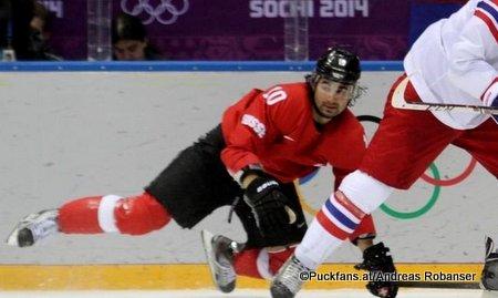 Andres Ambühl #10, Olympic Games 2014, Sochi ©Puckfans.at/Andreas Robanser