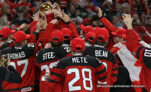 IIHF World Juniors 2018 Gold Medal Game SWE - CAN Team Canada KeyBank Center ©Puckfans.at/Andreas Robanser