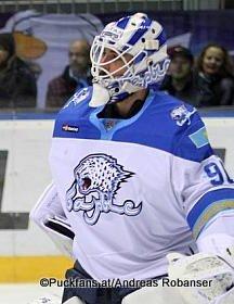 Kevin Poulin, Barys Astana KHL Season 2016-17 ©Puckfans.at/Andreas Robanser