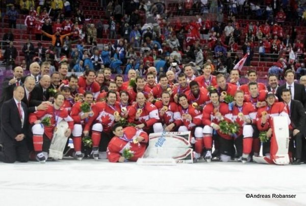 Team Canada Olympic Games 2014, Sochi ©Puckfans.at/Andreas Robanser