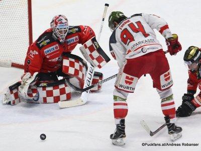Qualifikationsrunde:  HC Orli Znojmo - HC Bozen  Marek Schwarz  #3, Daniel Frank #94 Nevoga Arena Zimní Stadion, Znojmo ©Puckfans.at/Andreas Robanser