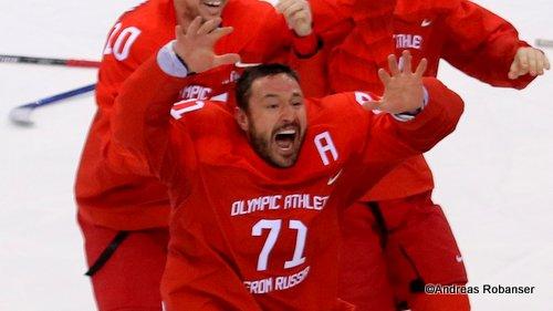 Olympic Winter Games Pyeongchang 2018 Men's Gold Medal Game OA RUS - GER Ilya Kovalchuk #71 Gangneung Hockey Centre ©Andreas Robanser