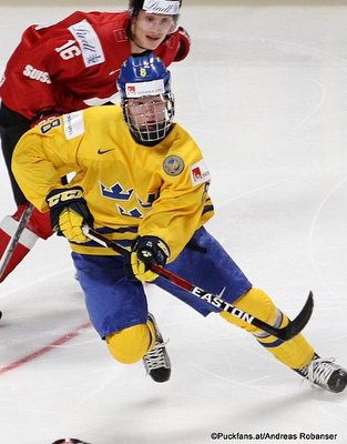 Rasmus Dahlin #8, Team Sweden, IIHF World Juniors 2018 ©Puckfans.at/Andreas Robanser