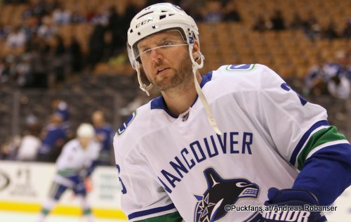 Thomas Vanek #, Vancouver Canucks NHL Season 2017 - 2018 ©Puckfans.at/Andreas Robanser