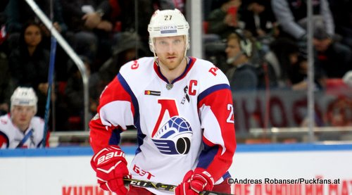 Staffan Kronwall #27 Lokomotiv Yaroslavl KHL Season 2017-2018 ©Puckfans.at/Andreas Robanser