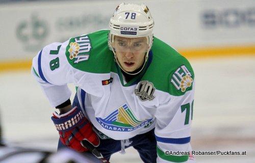 Anton Burdasov #78, Salavat Yuleav KHL Season 2017 - 2018 ©Puckfans.at/Andreas Robanser