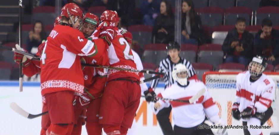IIHF U18 World Championship BLR - SUI  Artyom Borshyov  #4  Arena Metallurg, Magnitogorsk ©Puckfans.at/Andreas Robanser