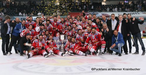 HC Bozen, EBEL Champion 2018 ©Krainbucher Werner/Puckfans.at