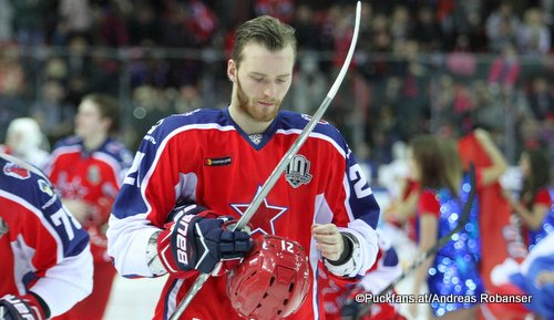 Mikhail Grigorenko #21, CSKA Moskau KHL Season 2017 - 2018 ©Puckfans.at/Andreas Robanser
