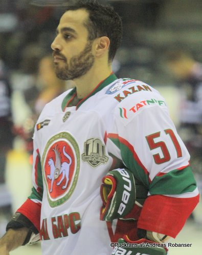 Justin Azevedo  #51, Ak Bars Kazan KHL Season 2017 - 2018 ©Puckfans.at/Andreas Robanser