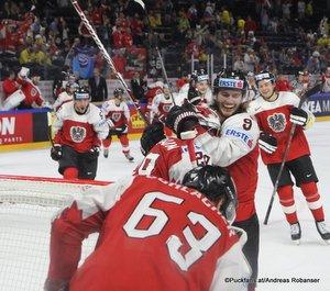 IIHF World Championship  AUT - BLR Jubel ÖEHV Team Royal Arena, Copenhagen