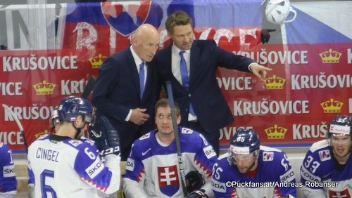 SVK Head Coach Craig Ramsay  IIHF World Championship,Royal Arena, Copenhagen ©Puckfans.at/Andreas Robanser