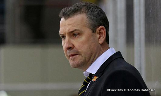 Head Coach Serge Aubin ©Puckfans.at/Andreas Robanser