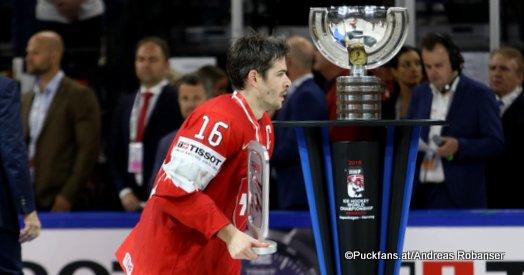 IIHF World Championship Gold Medal Game SWE - SUI Raphael Díaz Royal Arena, Copenhagen ©Puckfans.at/Andreas Robanser