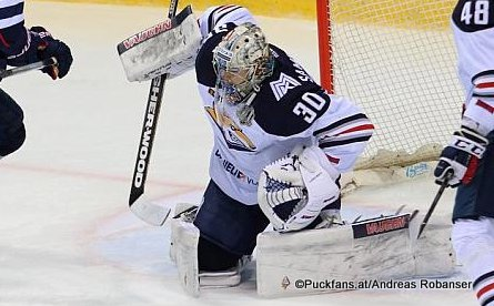 Ilya Samsonov #30, Metallurg Magnitogorsk KHL Season 2017 - 2018 ©Puckfans.at/Andreas Robanser
