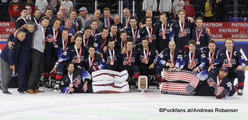 IIHF World Championship  Bronze Medal Game USA - CAN Team USA Royal Arena, Copenhagen ©Puckfans.at/Andreas Robanser