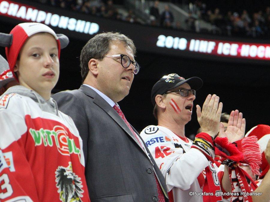 IIHF World Championship Mag. Gernot Mittendorfer Präsident/Vorsitzender Austrian Hockey Board Royal Arena, Copenhagen ©Puckfans.at/Andreas Robanser
