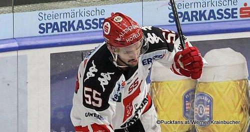 Nicholas Schaus #55, HC Innsbruck EBEL Season 2015 - 2016 ©Krainbucher Werner/Puckfans.at