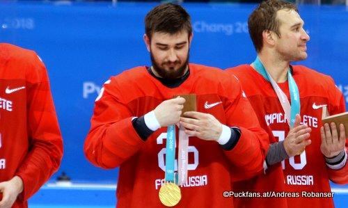 Vyacheslav Voynov, Olympic Games 2018 ©Puckfans.at/Andreas Robanser