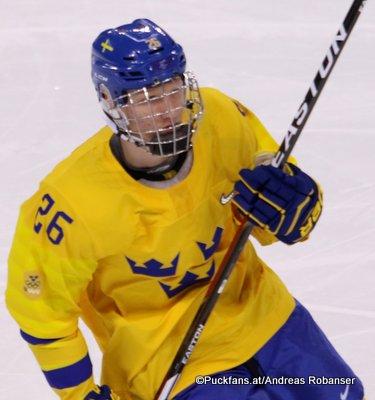 Rasmus Dahlin  #26, Olympic Winter Games 2018 ©Puckfans.at/Andreas Robanser