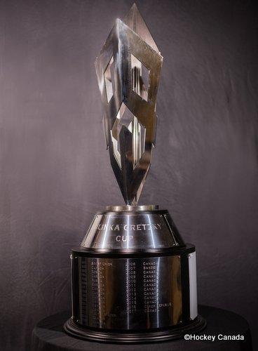 Hlinka Gretzky Cup Trophy ©HockeyCanada