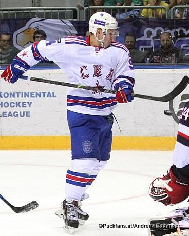 Alexander Barabanov, SKA St.Petersburg ©Puckfans.at/Andreas Robanser