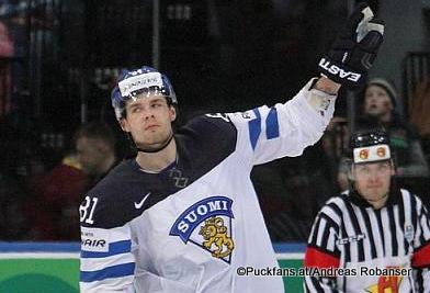 Iiro Pakarinen #81, FIN IIHF 2014 ©Puckfans.at/Andreas Robanser