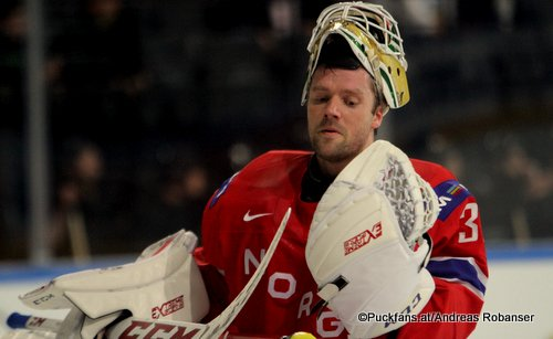 Lars Haugen #30, IIHF Worlds 2017 ©Puckfans.at/Andreas Robanser
