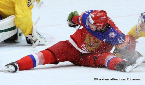 Nikolay Kulemin #41, IIHF 2015 ©Puckfans.at/Andreas Robanser