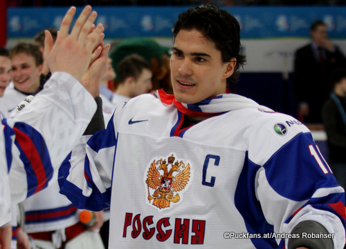 Nail Yakupov #10, IIHF World Juniors 2013 ©Puckfans.at/Andreas Robanser