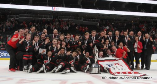 Hlinka Gretzky Cup 2018,Final SWE - CAN Team Canada Rogers Place, Edmonton ©Puckfans.at/Andreas Robanser