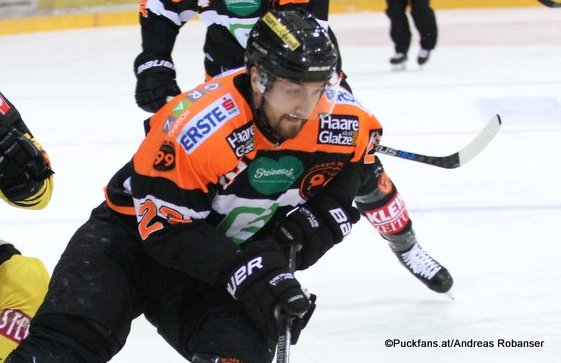 Matt Pelech #23 EBEL Season 2016-17 ©Puckfans.at/Andreas Robanser