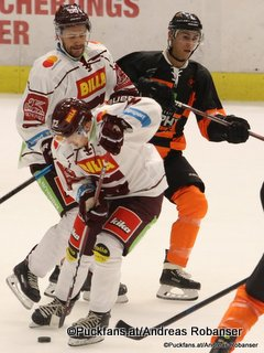 Energie Icehockey Trophy 2018 Graz 99ers - HC Sparta Praha Jiri Cernoch #12, Jérémie Blain #55, Daniel Oberkofler #74 Eishalle Liebenau ©Puckfans.at/Andreas Robanser