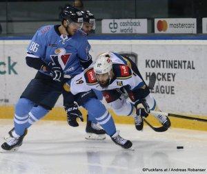 HC Slovan Bratislava - HC Sochi Éric Gélinas #86, Eric O'Dell #19 ©Puckfans.at/Andreas Robanser