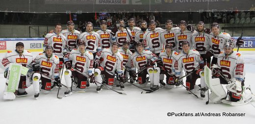 Finale Energie Icehockey Trophy 2018 SC Rapperswil-Jona Lakers - HC Sparta Praha Team HC Sparta Praha Eishalle Liebenau ©Puckfans.at/Andreas Robanser