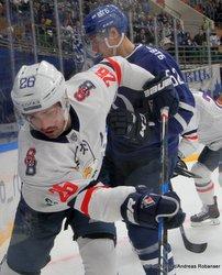 HC Dynamo Moskau - HC Slovan Bratislava Michal Repik  #26 Megasport Arena ©Puckfans.at/Andreas Robanser
