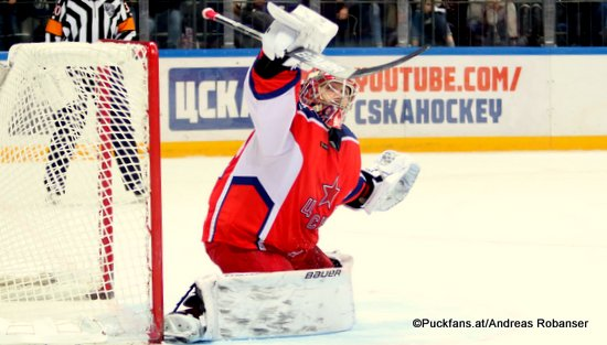 Ilya Sorokin #90, CSKA Moskau ©Puckfans.at/Andreas Robanser