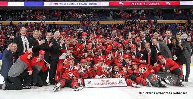 IIHF World Junior Championship 2018 Team Canada ©Puckfans.at/Andreas Robanser