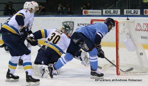 HC Slovan Bratislava - HC Sochi Jyrki Jokipakka #5. Konstantin Barulin #30, Dávid Buc #97 Ondrej Nepela Arena ©Puckfans.at/Andreas Robanser