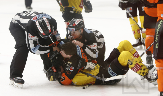 Moser Medical Graz 99ers vs. spusu Vienna Capitals; EBEL; Placement Round; Merkur Arena, Graz; 01.03.2019; ©Werner Krainbucher, Puckfans.at