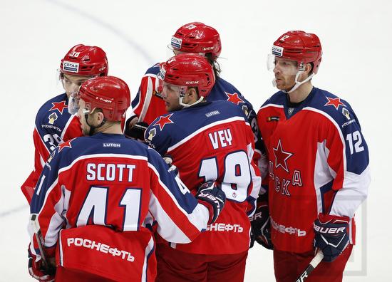 CSKA Moscow; KHL; CSKA Arena, Moscow; ©Werner Krainbucher, Puckfans.at