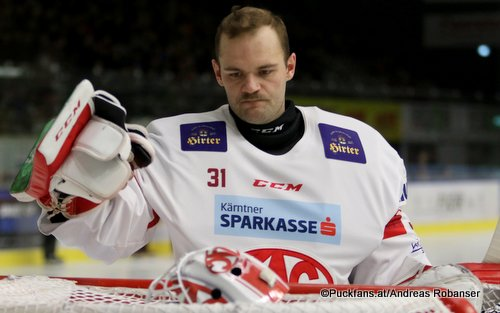 David Madlener #31, EC KAC EBEL Season 2019 - 2020 ©Puckfans.at/Andreas Robanser